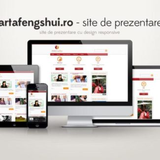 Site de prezentare wordpress: artafengsui.ro