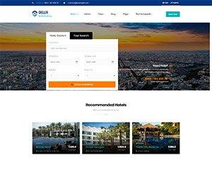 creare site agentie de turism, model 4
