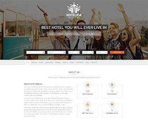 realizare site agentie turism model 2