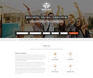 creare site agentie de turism, model 2