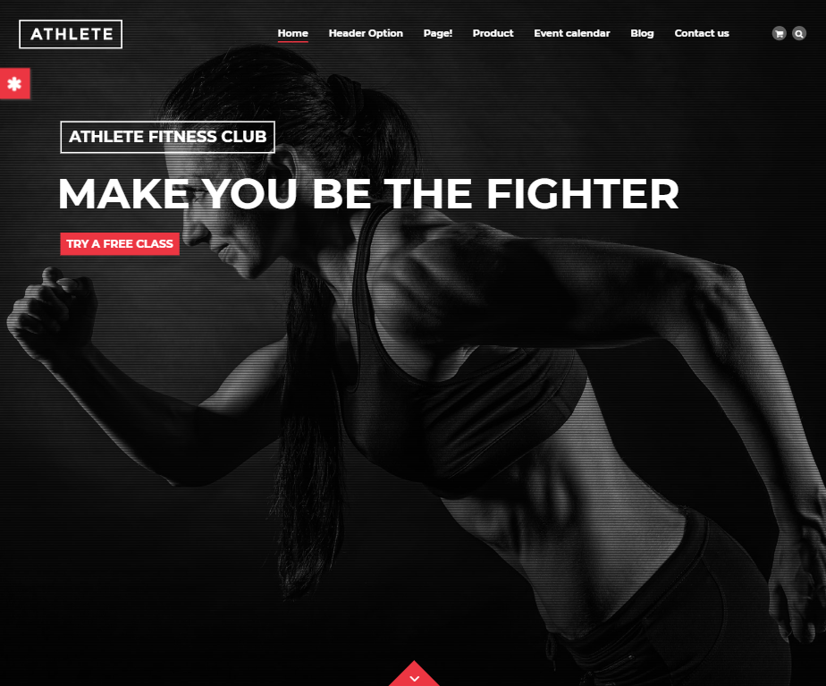 creare site sala fitness model 1