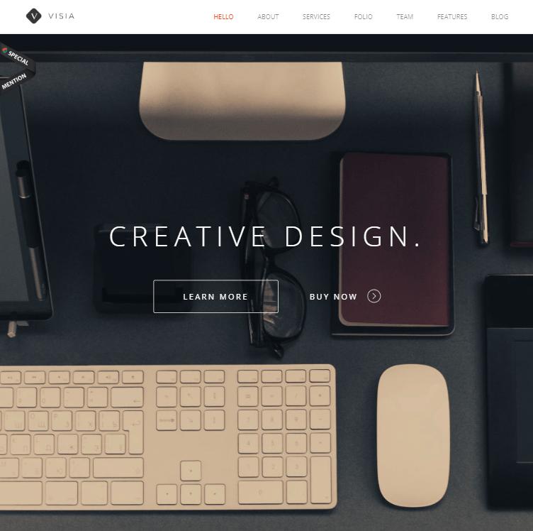 creare site wordpress model 2