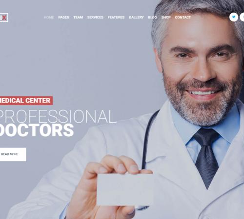 creare site cabinet medical model 1
