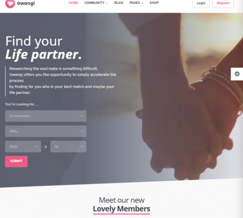 creare site dating model 1