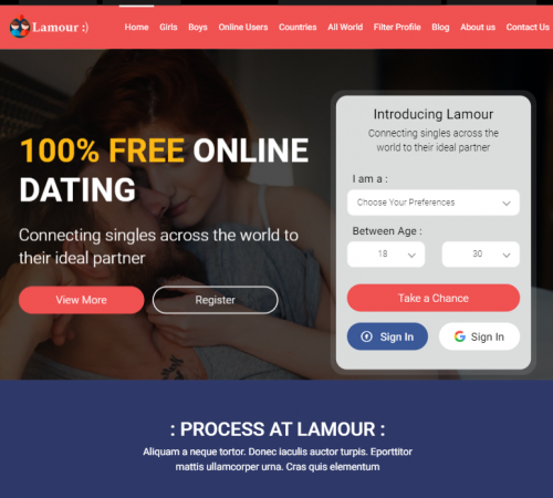 creare site dating model 3
