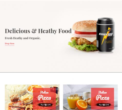 creare site magazin online model 3
