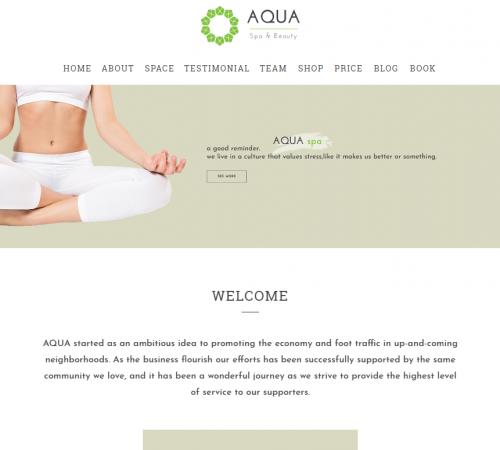 creare site salon infrumusetare model 3